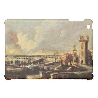 Paul Rubens - ajardine con la torre del molde