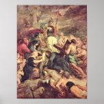 Paul Rubens - crucifixión de Cristo Posters