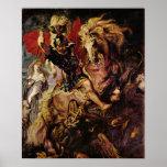Paul Rubens - detalle de la batalla Impresiones