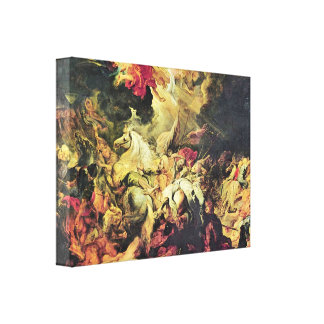 Paul Rubens - Diana with nymphs Gallery Wrap Canvas
