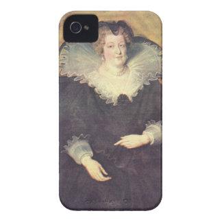 Paul Rubens - retrato de Maria de Medici Queen de Case-Mate iPhone 4 Coberturas