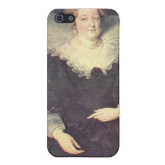 Paul Rubens - retrato de Maria de Medici Queen de iPhone 5 Carcasa