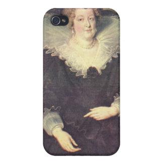 Paul Rubens - retrato de Maria de Medici Queen de iPhone 4/4S Fundas