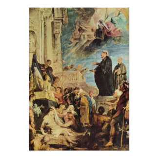 Paul Rubens - The Miracle of St Francis Xavier Poster