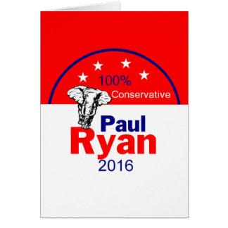 Paul Ryan2016 Greeting Card
