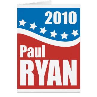 Paul Ryan 2010 Card