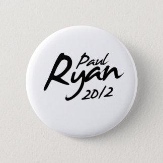 PAUL RYAN 2012 Autograph Button