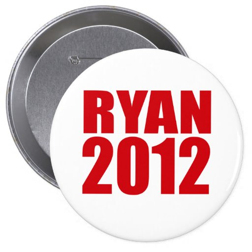 PAUL RYAN 2012 (intrépido) Pins