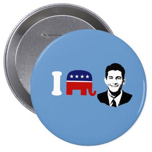Paul Ryan 2012 Pins