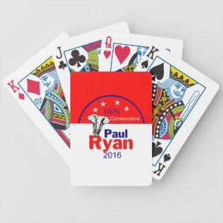 Paul Ryan 2016 Bicycle Playing Cards