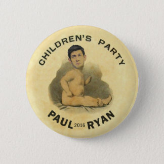 Paul Ryan 2016 Button