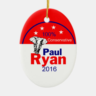 Paul Ryan 2016 Ceramic Ornament