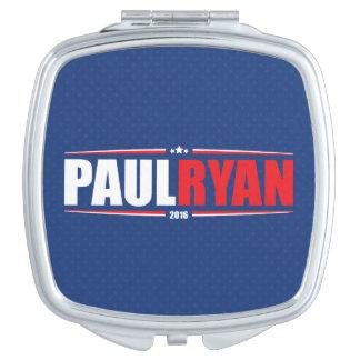 Paul Ryan 2016 (estrellas y rayas - azul) Espejo Maquillaje