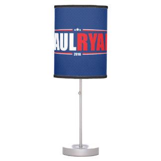Paul Ryan 2016 (estrellas y rayas - azul) Lámpara De Mesilla De Noche