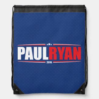 Paul Ryan 2016 (estrellas y rayas - azul) Mochilas