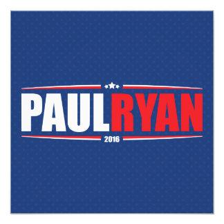 Paul Ryan 2016 (estrellas y rayas - azul) Impresion Fotografica