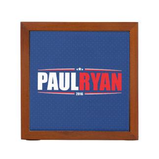 Paul Ryan 2016 (estrellas y rayas - azul) Portalápices