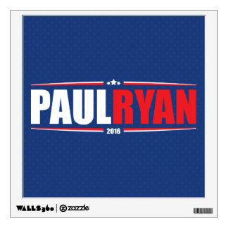 Paul Ryan 2016 (estrellas y rayas - azul) Vinilo