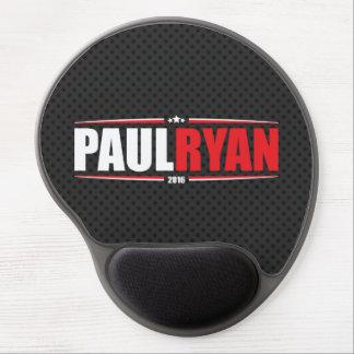 Paul Ryan 2016 (estrellas y rayas - negro) Alfombrilla Gel