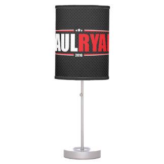 Paul Ryan 2016 (estrellas y rayas - negro) Lámpara De Escritorio