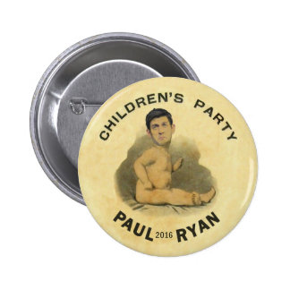 Paul Ryan 2016 Pin Redondo De 2 Pulgadas