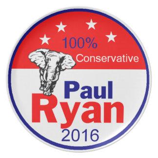 Paul Ryan 2016 Plate