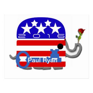 Paul Ryan 2016 Post Card