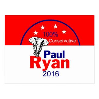 Paul Ryan 2016 Post Cards
