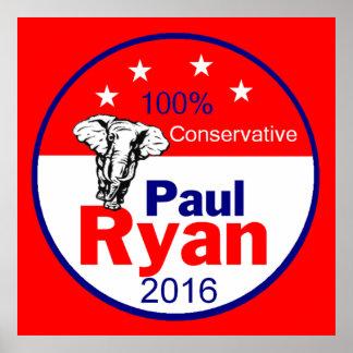 Paul Ryan 2016 Poster