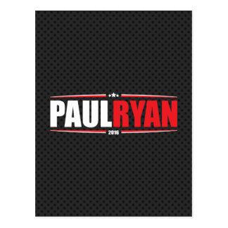 Paul Ryan 2016 (Stars & Stripes - Black) Postcard