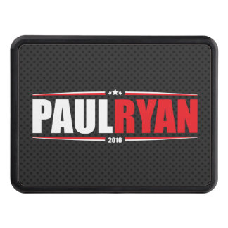 Paul Ryan 2016 (Stars & Stripes - Black) Trailer Hitch Cover