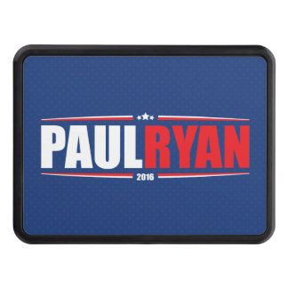 Paul Ryan 2016 (Stars & Stripes - Blue) Trailer Hitch Cover