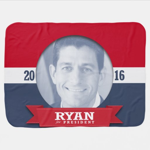 PAUL RYAN 2016 RECEIVING BLANKET