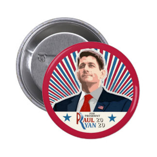 Paul Ryan 2020 Pin Redondo De 2 Pulgadas