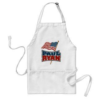 Paul Ryan American Flag Adult Apron