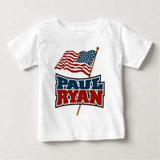 Paul Ryan American Flag Baby T-Shirt