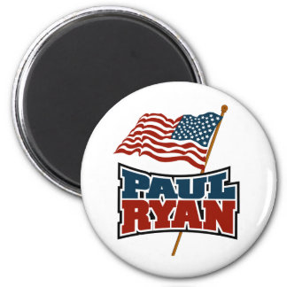 Paul Ryan American Flag Magnet