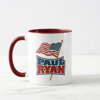 Paul Ryan American Flag Mug