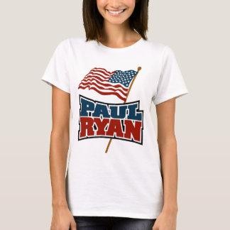 Paul Ryan American Flag T-Shirt