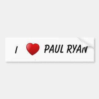 Paul Ryan Campaign Gear Bumper Sticker