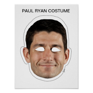Paul Ryan Costume Poster