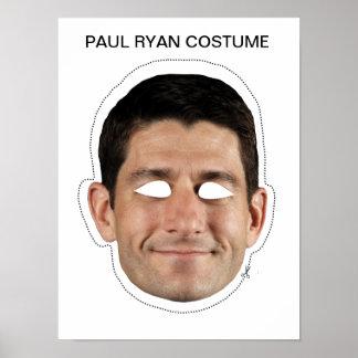 Paul Ryan Costume Poster