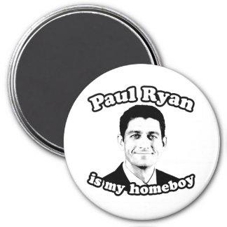 PAUL RYAN ES MI HOMEBOY.png Imán Redondo 7 Cm