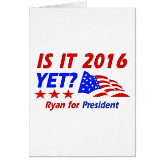 Paul Ryan for President designs Cards