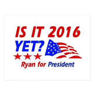 Paul Ryan for President designs Post Cards