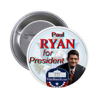 Paul Ryan for President Great Seal Button