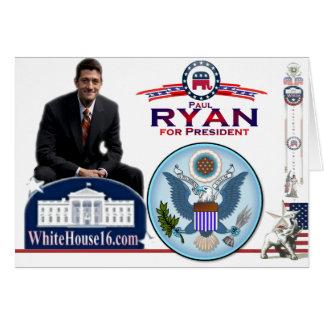 Paul Ryan for President Greeting Card