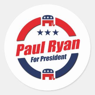 PAUL RYAN FOR PRESIDENT Republican Sticker