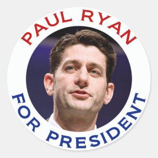 Paul Ryan For President Sticker