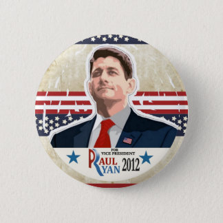 Paul Ryan for Vice President in 2012 Button